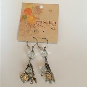 ❤️Love & Birds earrings - Boutique